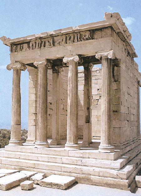 La acropolis de atenas timjrod for Arquitectura griega templos